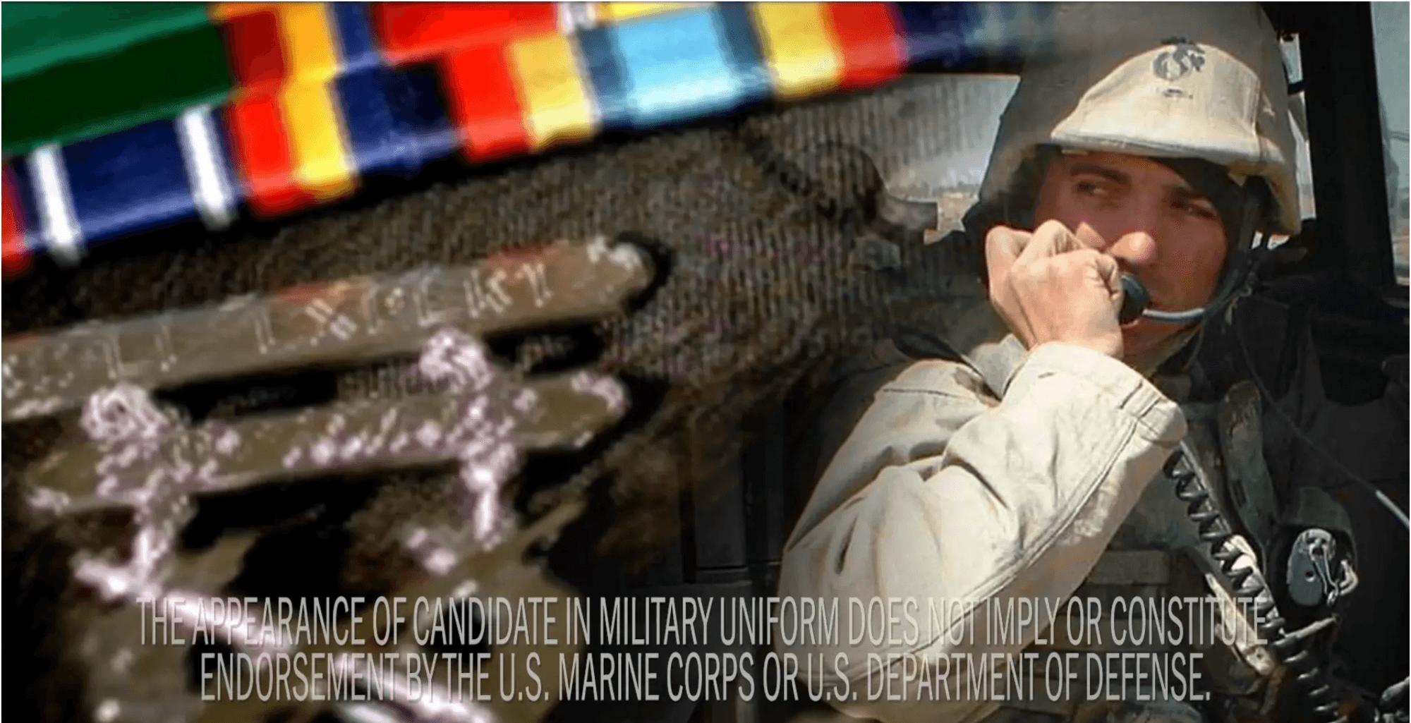 Congressman Van Taylor – Marine